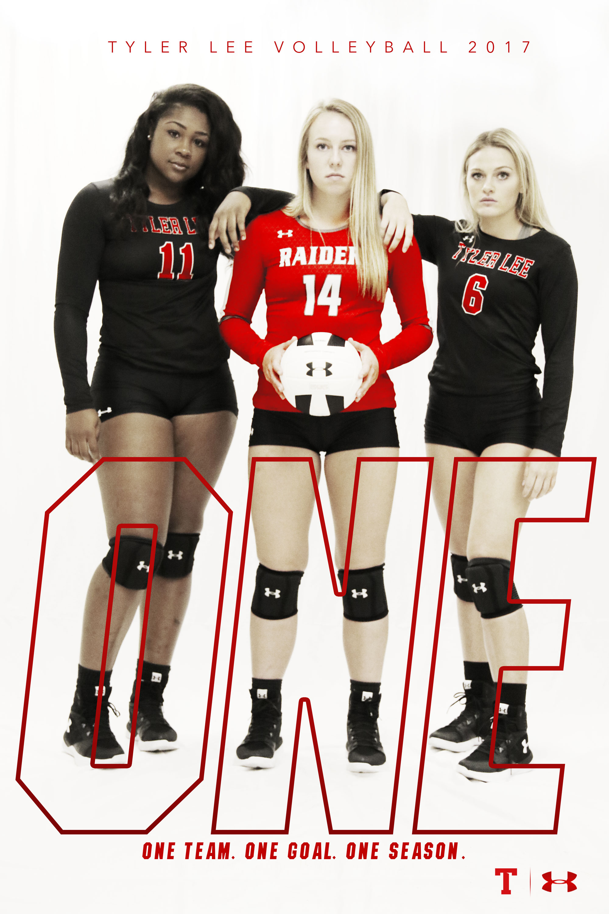 Tyler Lee Volleyball 2017 poster