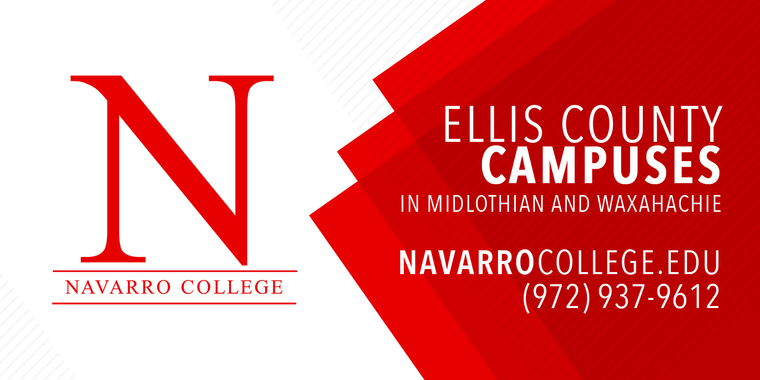 Navarro College Campus Map.Navarro College Ellis County Campuses Information Card Cates Design
